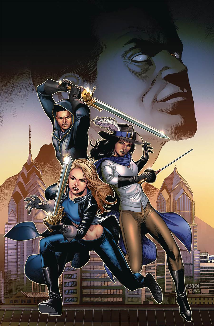 Grimm Fairy Tales Presents Musketeers #3 Cover A Sean Chen