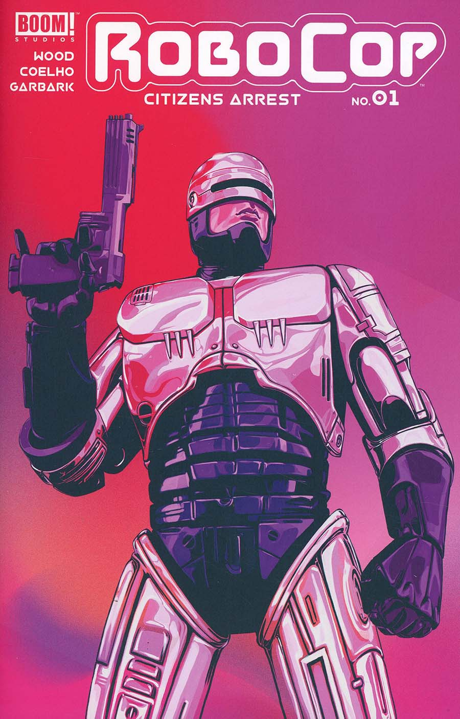 Robocop Citizens Arrest #1 Cover A Regular Nimit Malavia Cover