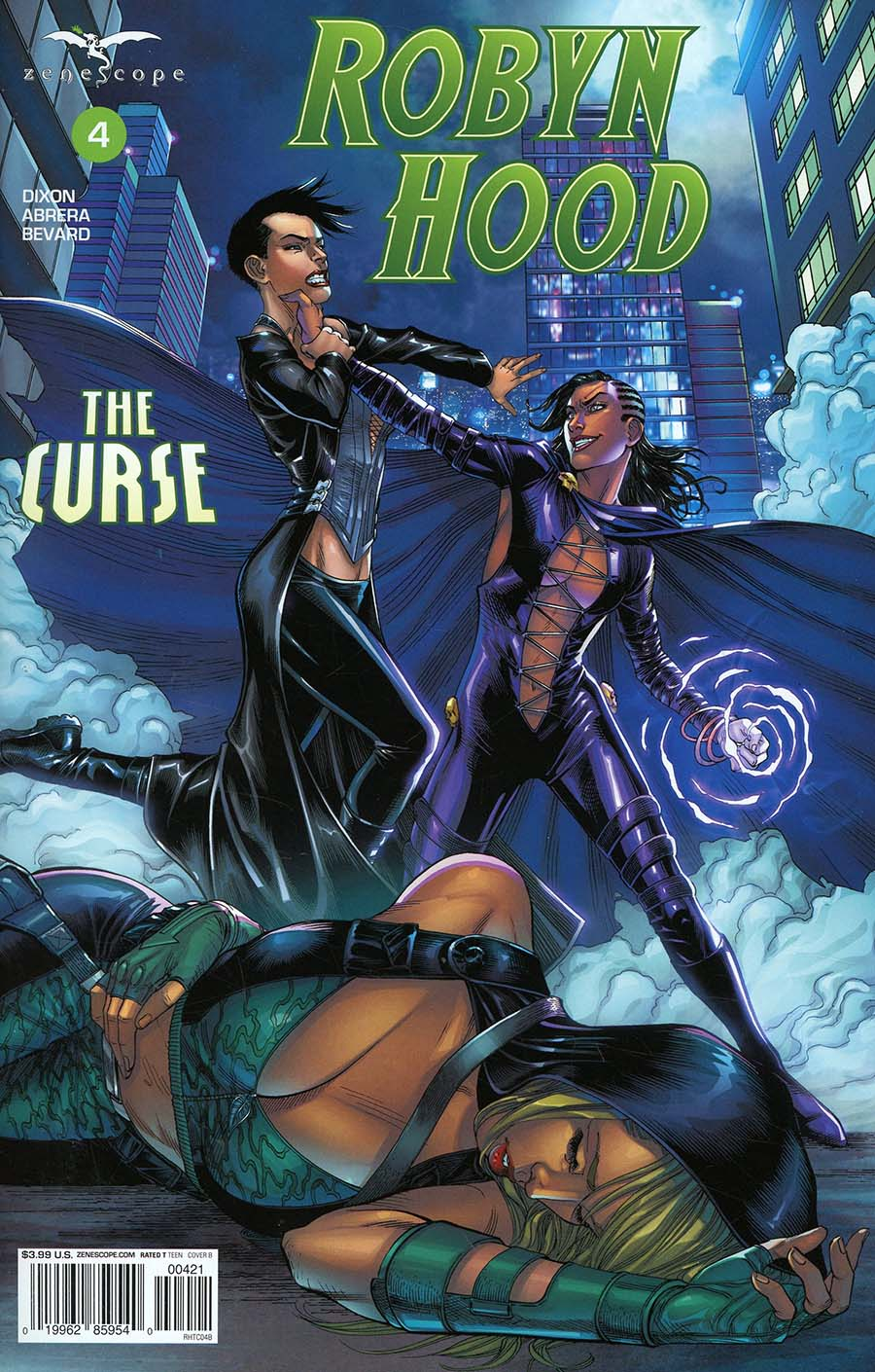 Grimm Fairy Tales Presents Robyn Hood The Curse #4 Cover B Mike S Miller
