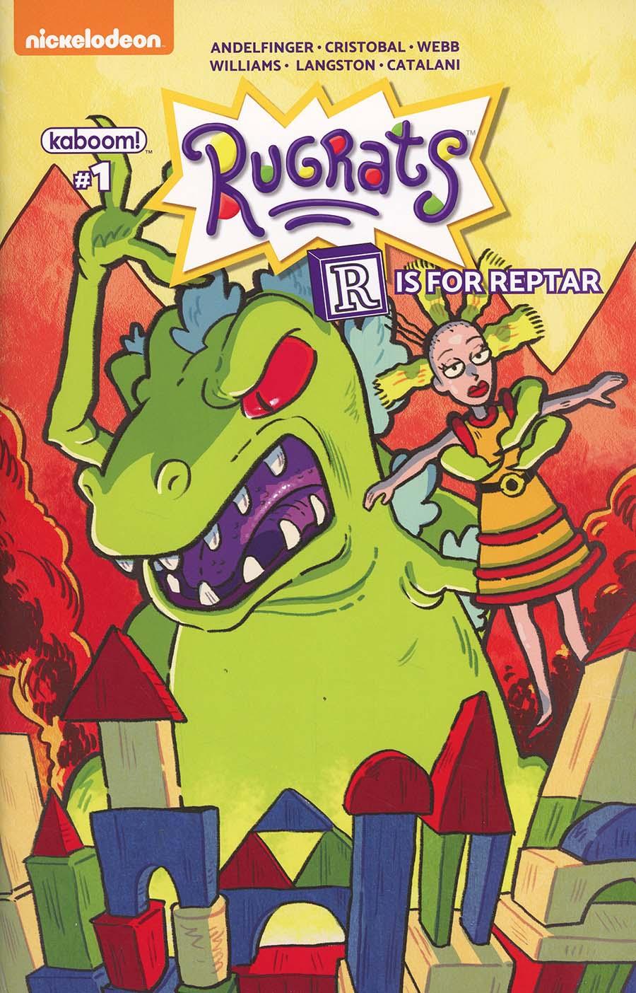 Rugrats R Is For Reptar 2018 Special #1 Cover A Regular Savanna Ganucheau Cover