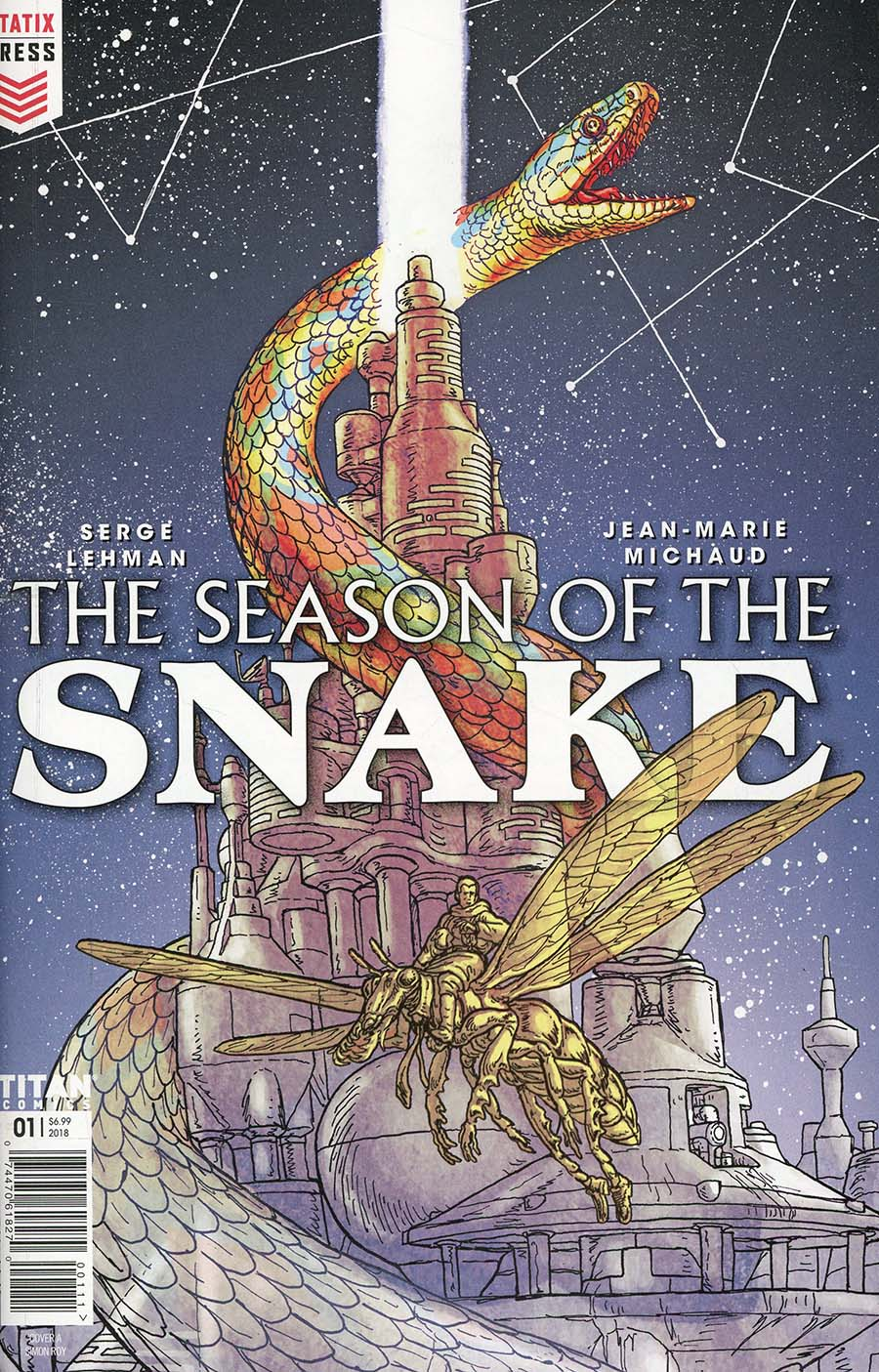 Season Of The Snake #1 Cover A Regular Simon Roy Cover