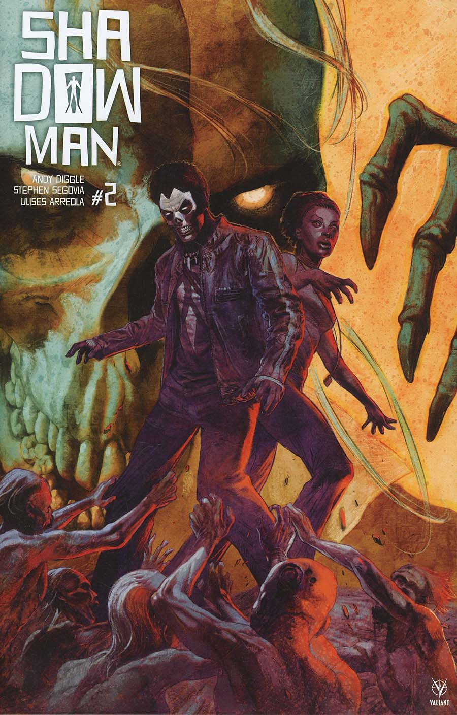 Shadowman Vol 5 #2 Cover B Variant Renato Guedes Cover