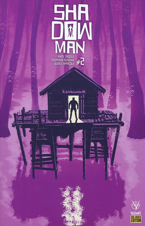 Shadowman Vol 5 #2 Cover D Variant Raul Allen Cover