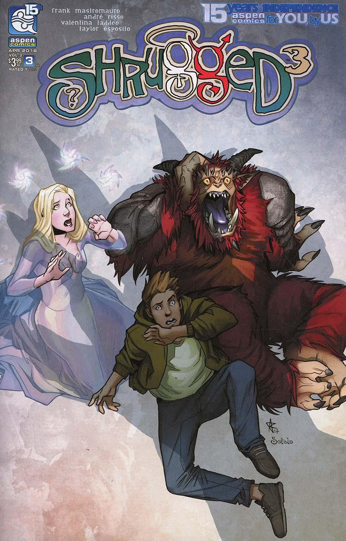 Shrugged Vol 3 #3 Cover A Regular Andre Risso Cover