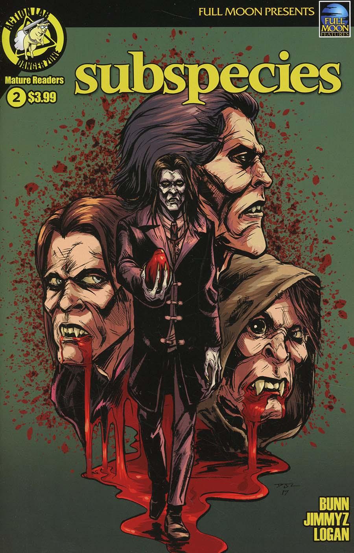 Subspecies (Danger Zone) #2 Cover A Regular Daniel Jay Logan Cover