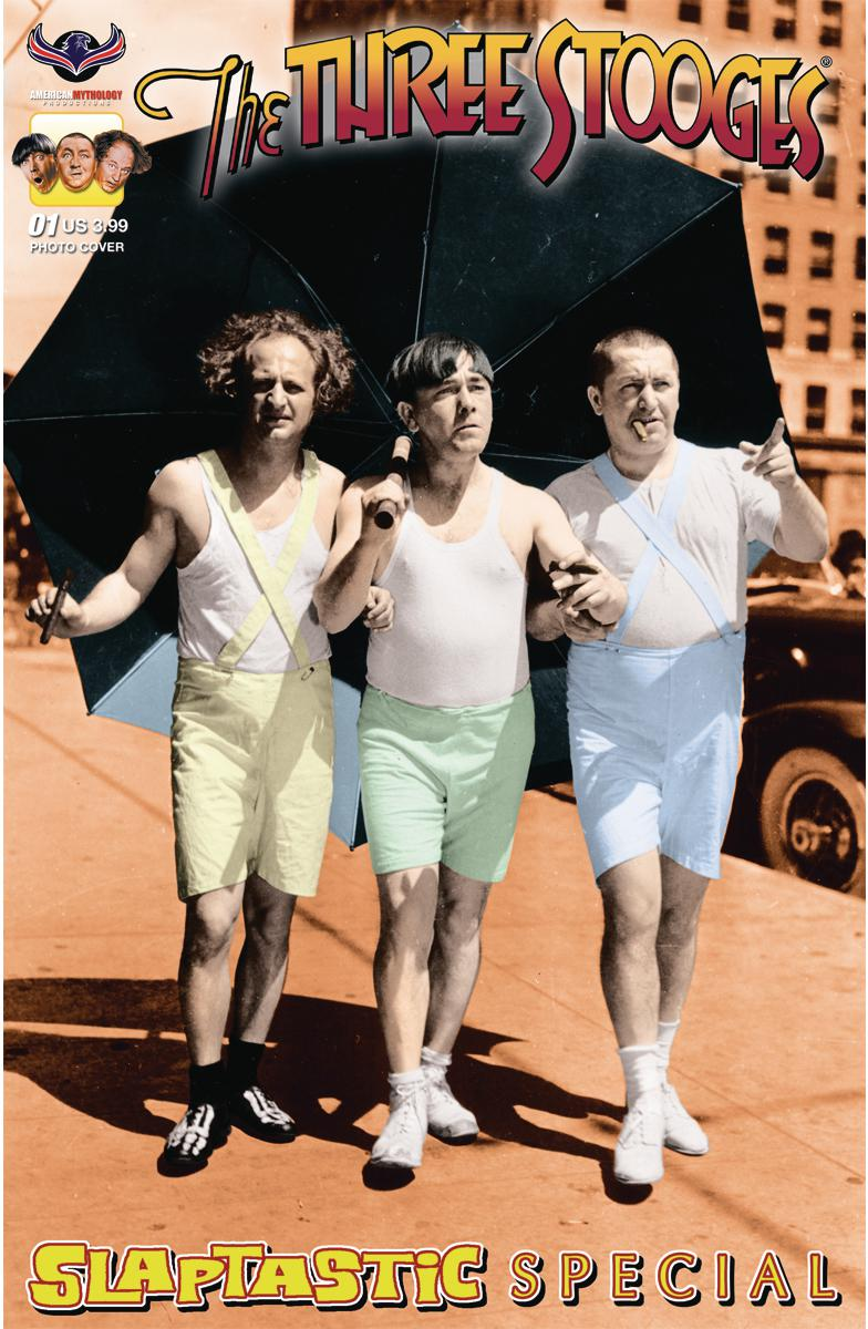 Three Stooges Slaptastic Special #1 Cover B Variant Color Photo Cover