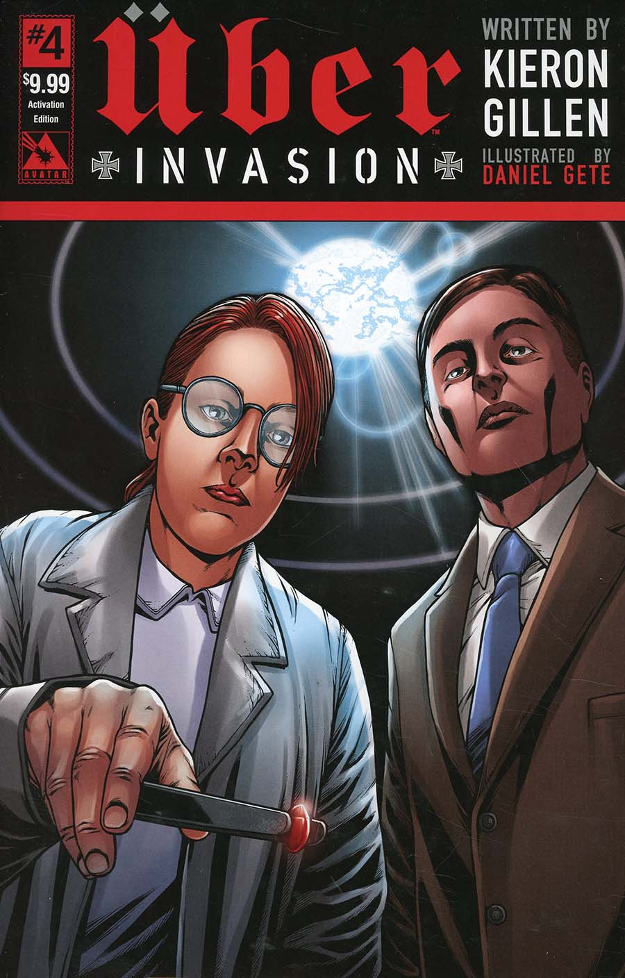 Uber Invasion #4 Cover G Activation Edition Cover