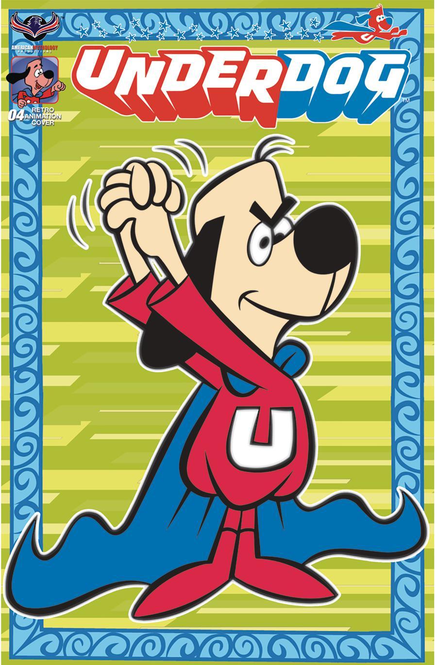 Underdog (American Mythology) #4 Cover C Variant Retro Animation Limited Edition Cover