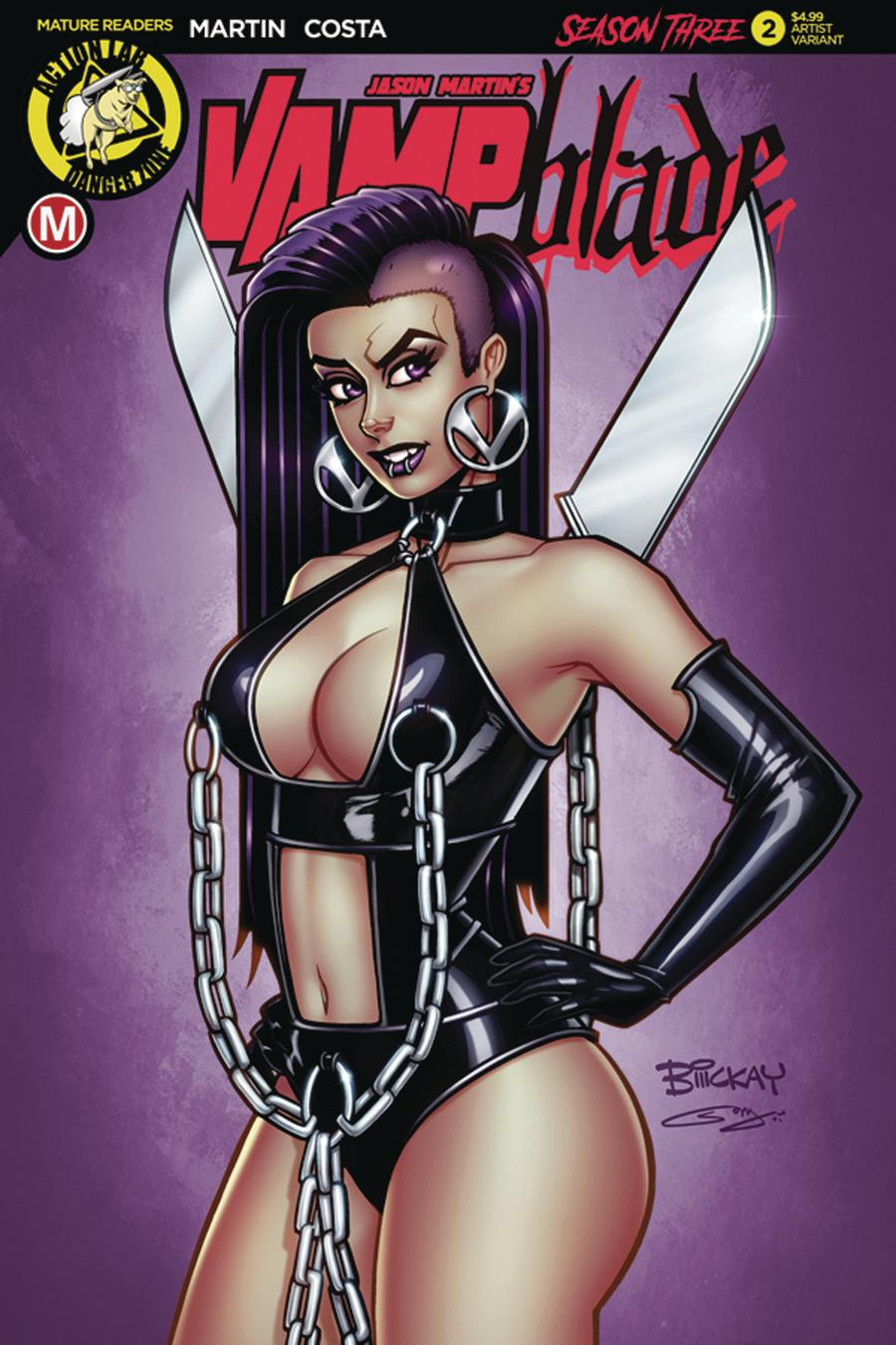 Vampblade Season 3 #2 Cover C Variant Bill McKay Cover