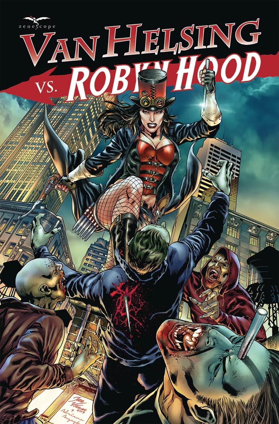 Grimm Fairy Tales Presents Van Helsing vs Robyn Hood #4 Cover B Igor Vitorino