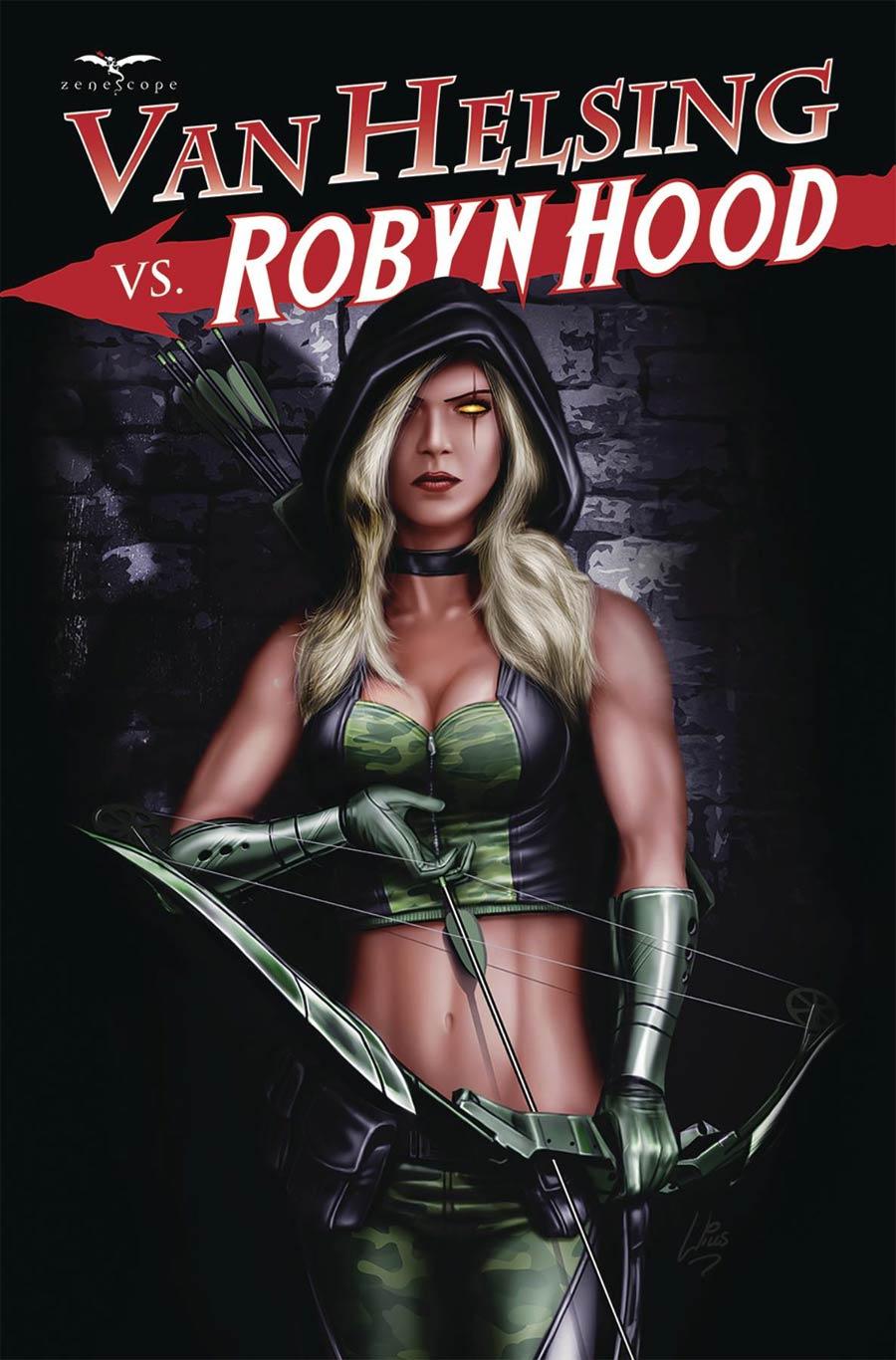 Grimm Fairy Tales Presents Van Helsing vs Robyn Hood #4 Cover C Richard Williams