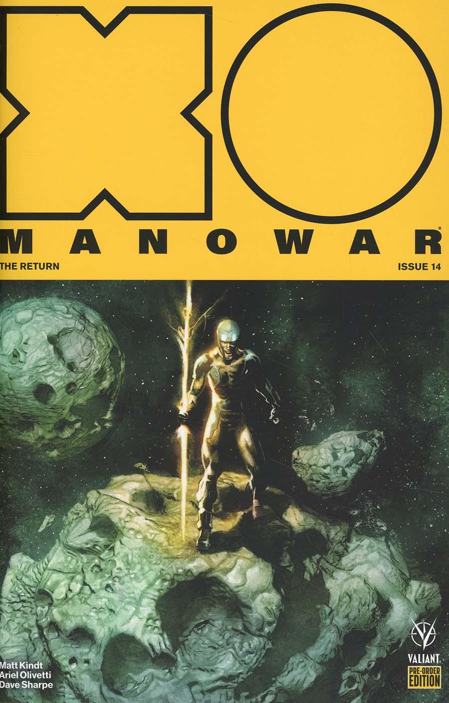 X-O Manowar Vol 4 #14 Cover C Variant Renato Guedes Cover