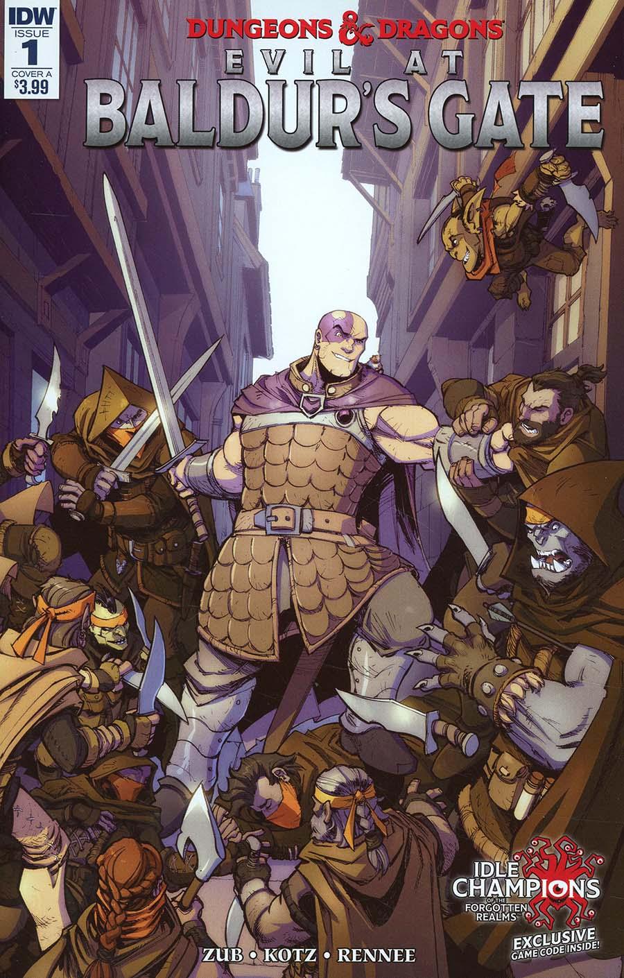 Dungeons & Dragons Evil At Baldurs Gate #1 Cover A Regular Max Dunbar Cover