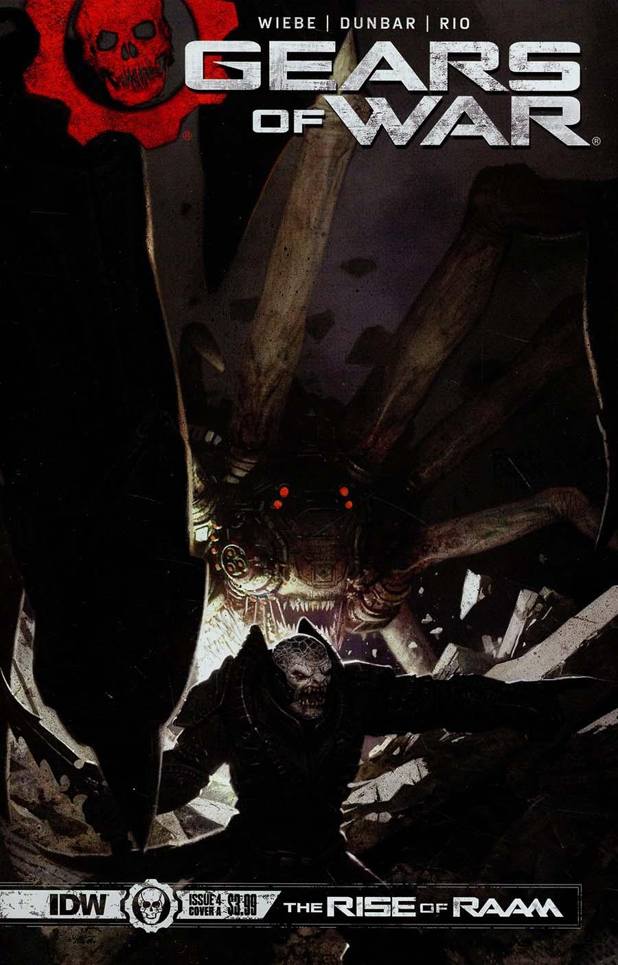 Gears Of War Rise Of RAAM #4 Cover A Regular Ryan Brown Cover