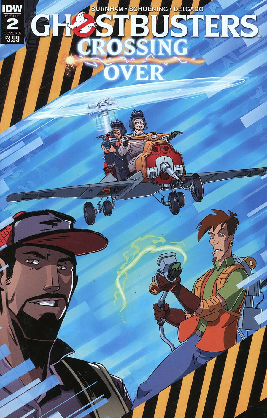 Ghostbusters Crossing Over #2 Cover A Regular Dan Schoening Cover