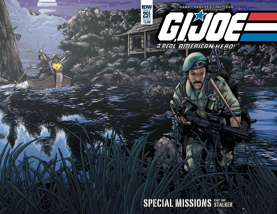 GI Joe A Real American Hero #251 Cover A Regular Alex Sanchez Cover