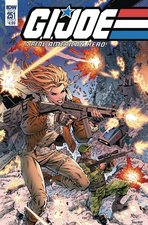 GI Joe A Real American Hero #251 Cover B Variant John Royle Cover