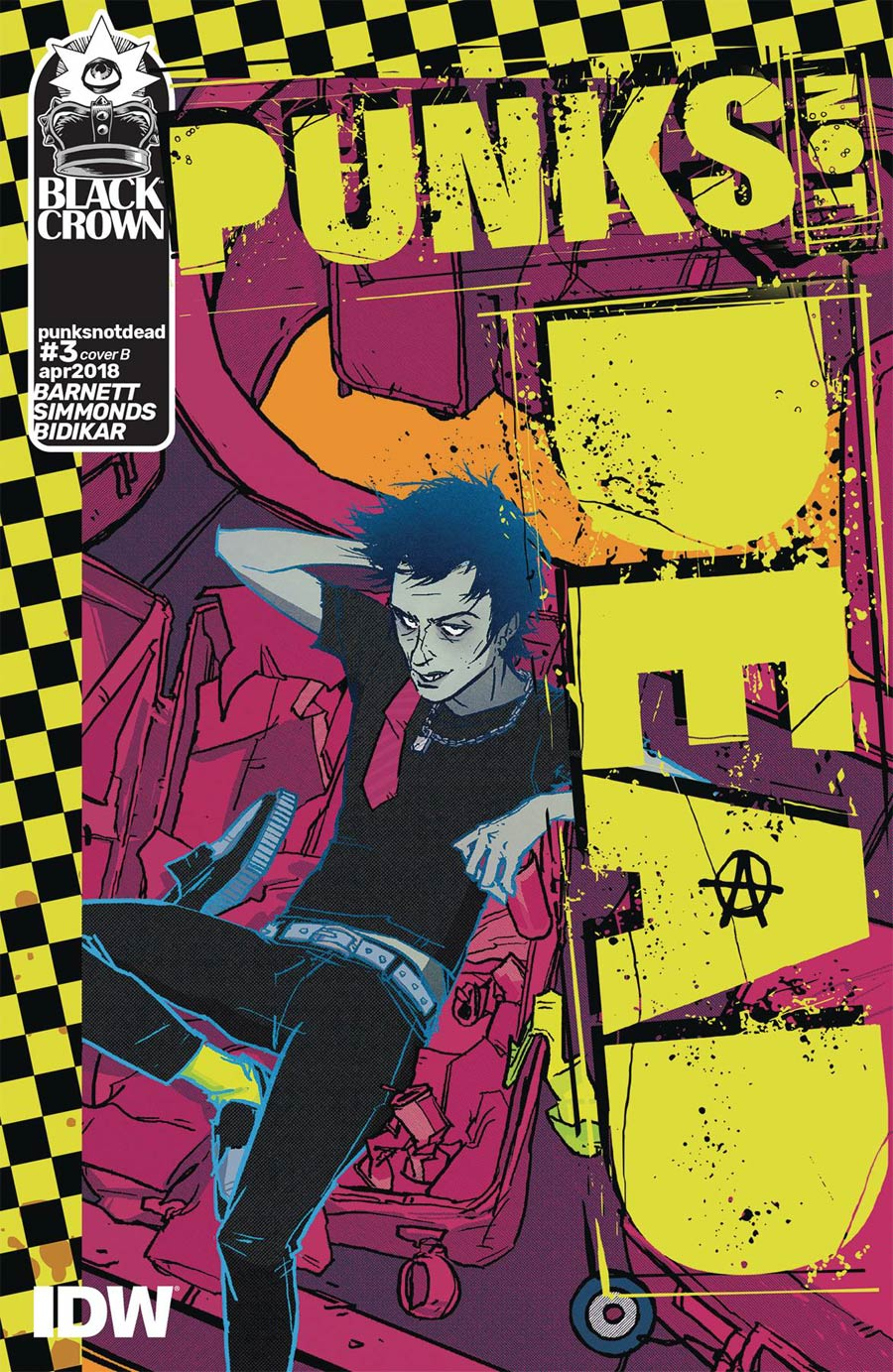 Punks Not Dead #3 Cover B Variant Annie Wu Cover