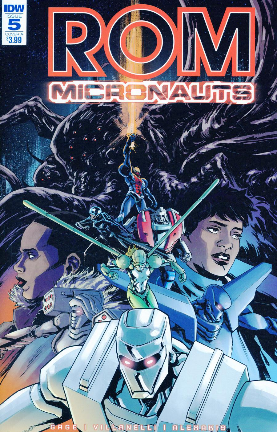 ROM And The Micronauts #5 Cover A Regular Paolo Villanelli Cover