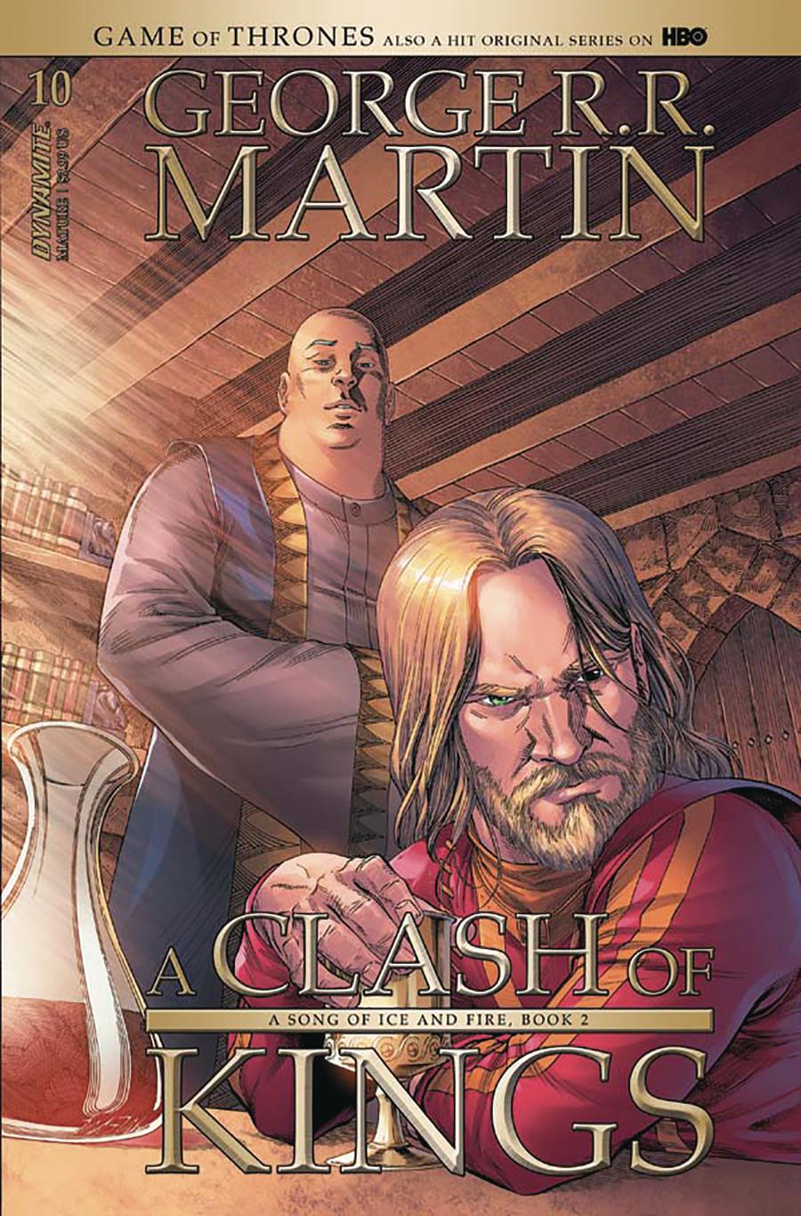 Game Of Thrones Clash Of Kings #10 Cover A Regular Mike Miller Cover