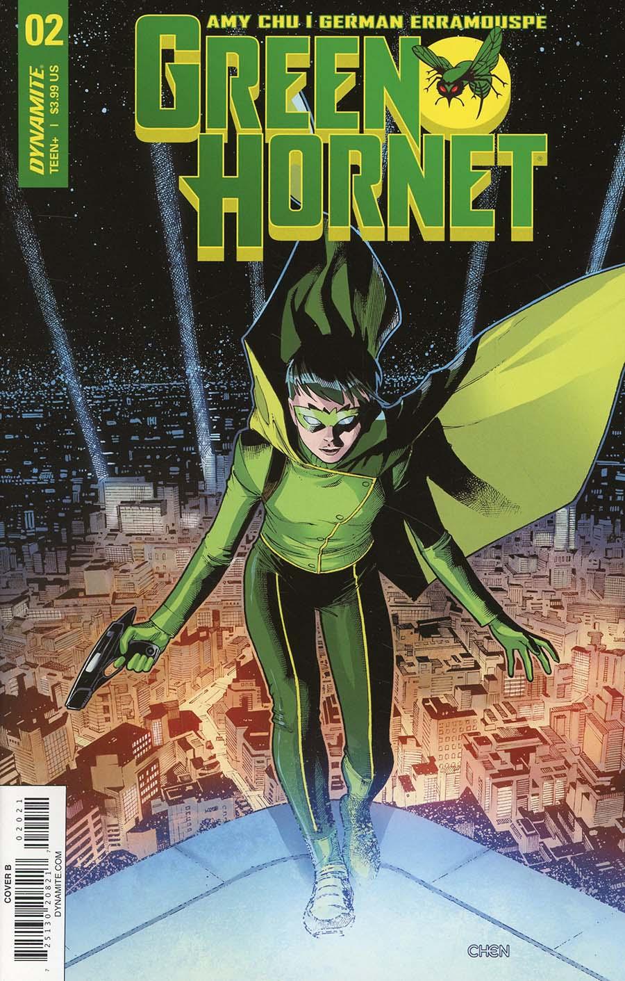 Green Hornet Vol 4 #2 Cover B Variant Sean Chen Cover