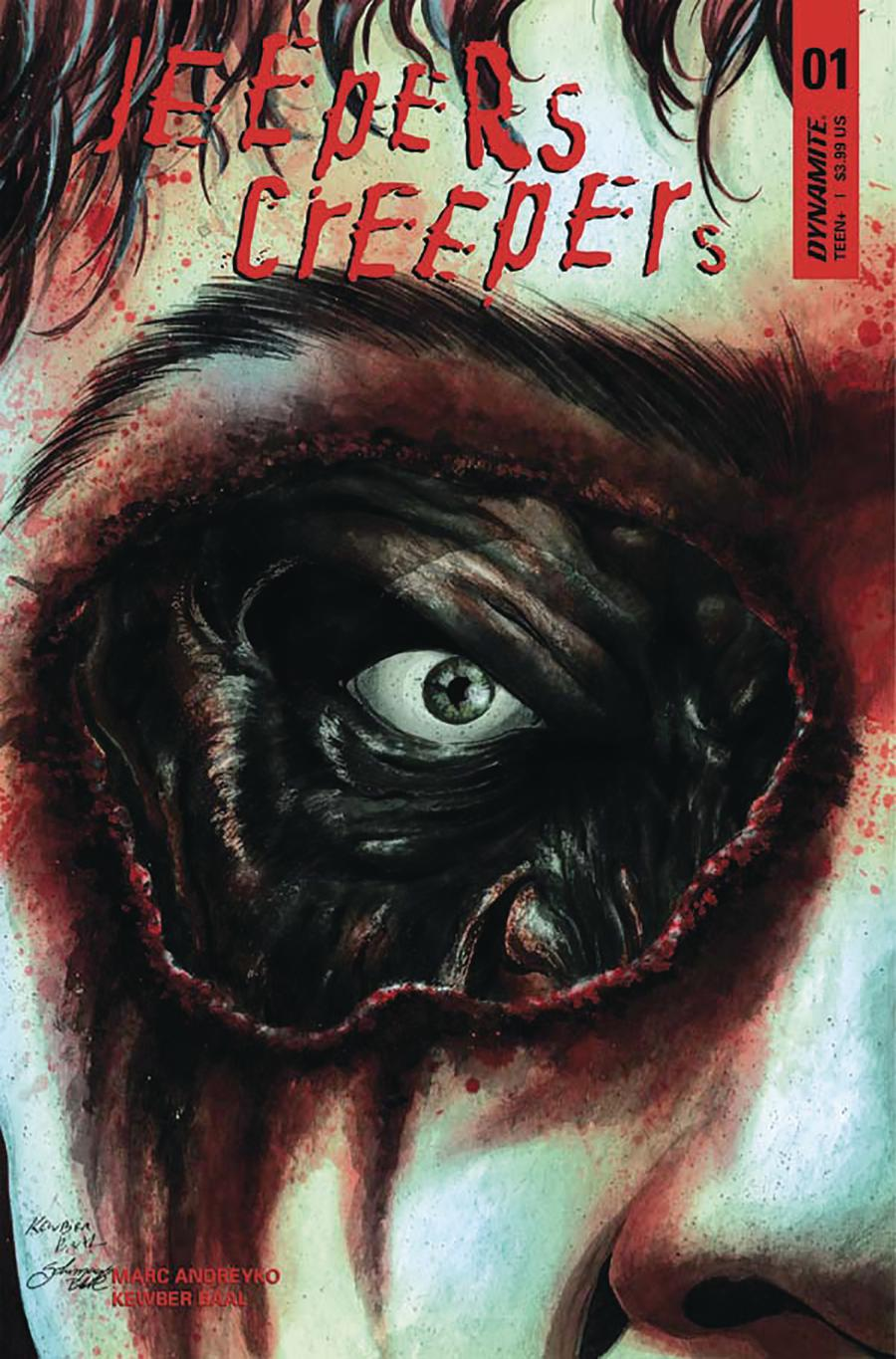 Jeepers Creepers #1 Cover B Variant Kewber Baal Cover