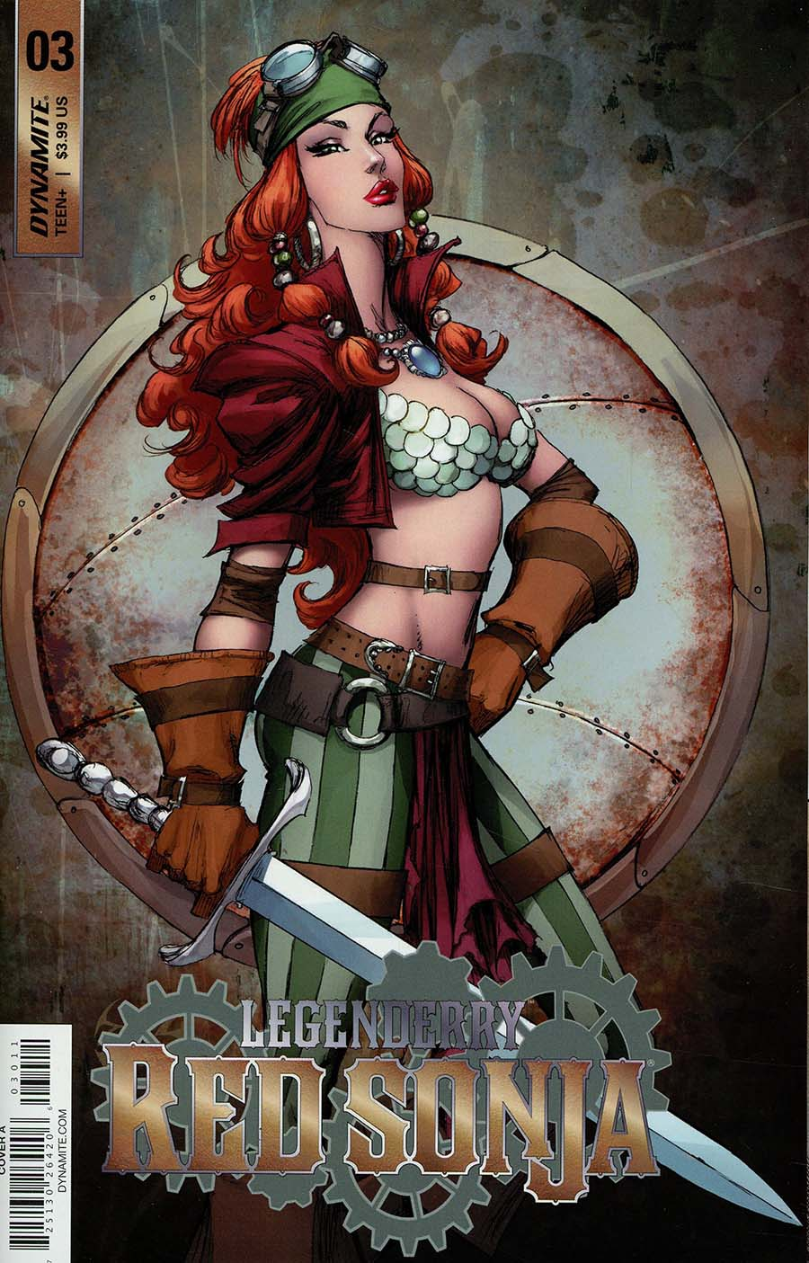 Legenderry Red Sonja Vol 2 #3 Cover A Regular Joe Benitez Cover
