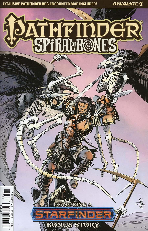 Pathfinder Spiral Of Bones #2 Cover C Variant Tom Mandrake Cover