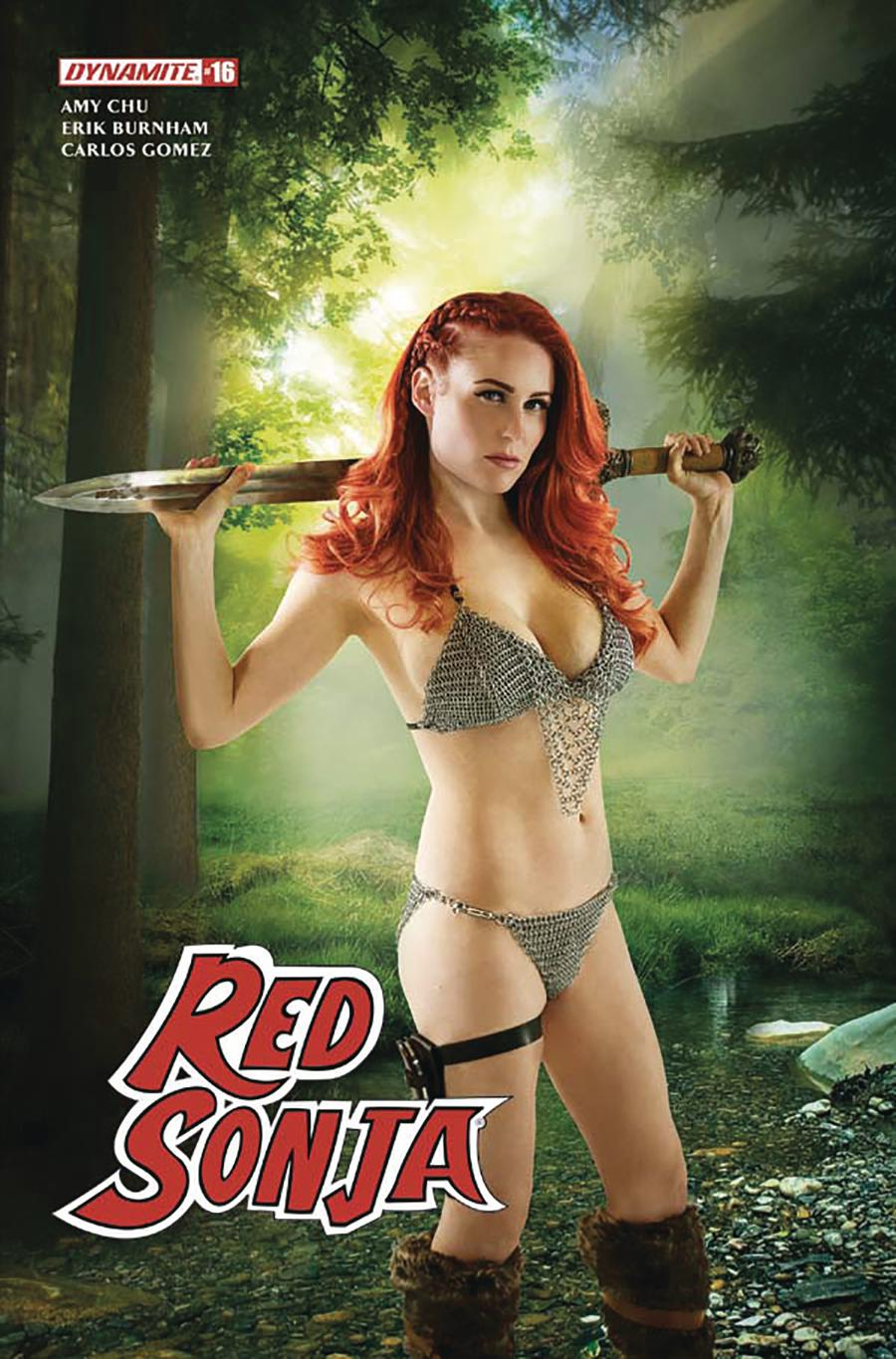 Red Sonja Vol 7 #16 Cover D Variant Cosplay Photo Cover