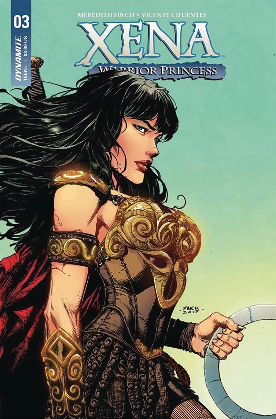 Xena Vol 2 #3 Cover A Regular David Finch Cover