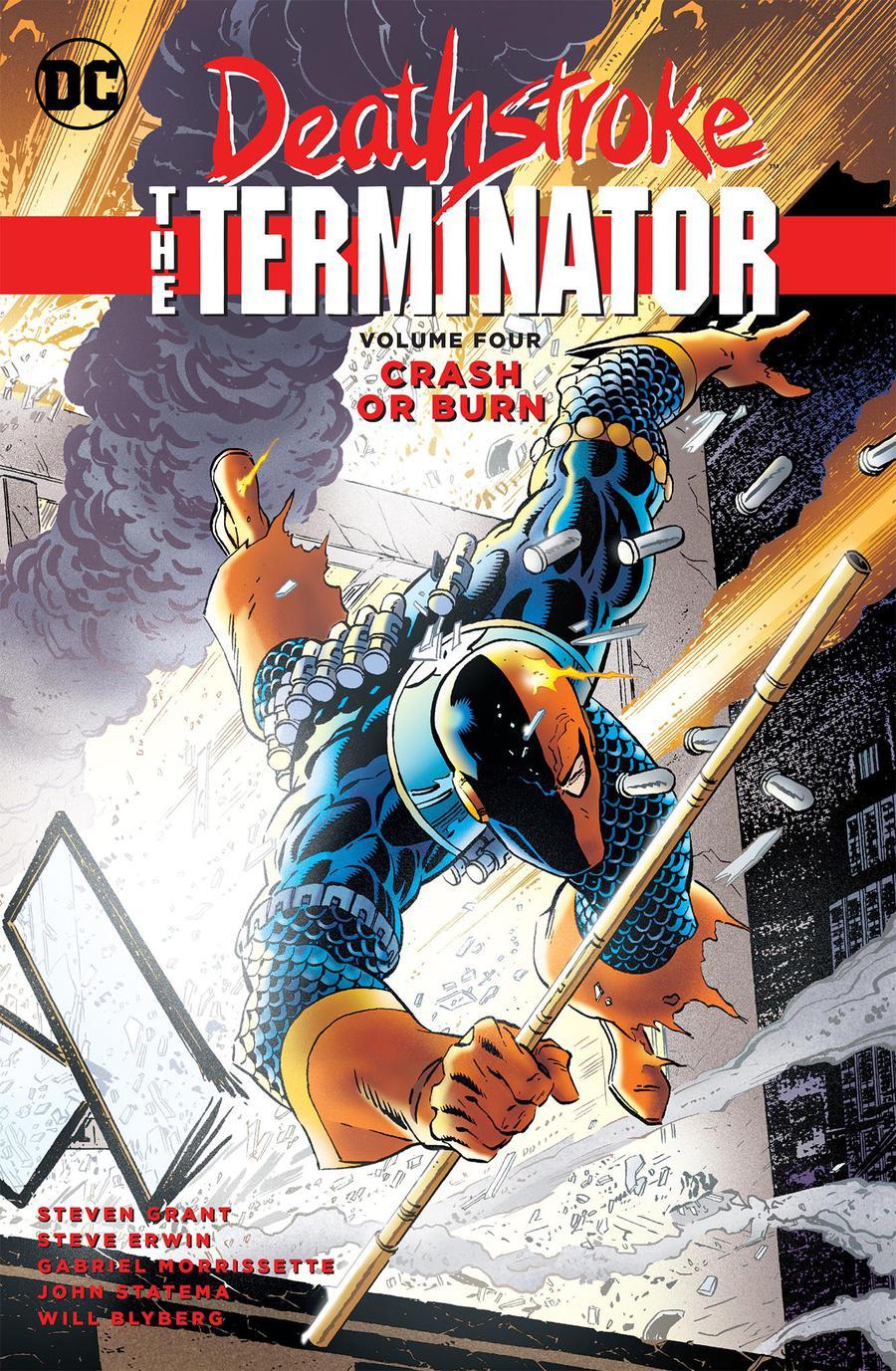 Deathstroke The Terminator Vol 4 Crash Or Burn TP