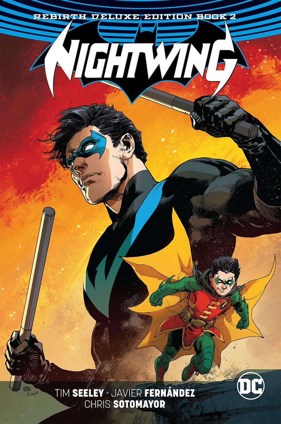 Nightwing Rebirth Deluxe Edition Book 2 HC