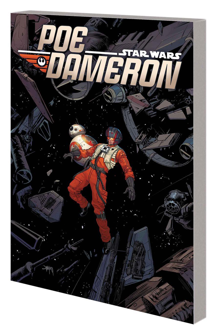 Star Wars Poe Dameron Vol 4 Legend Found TP