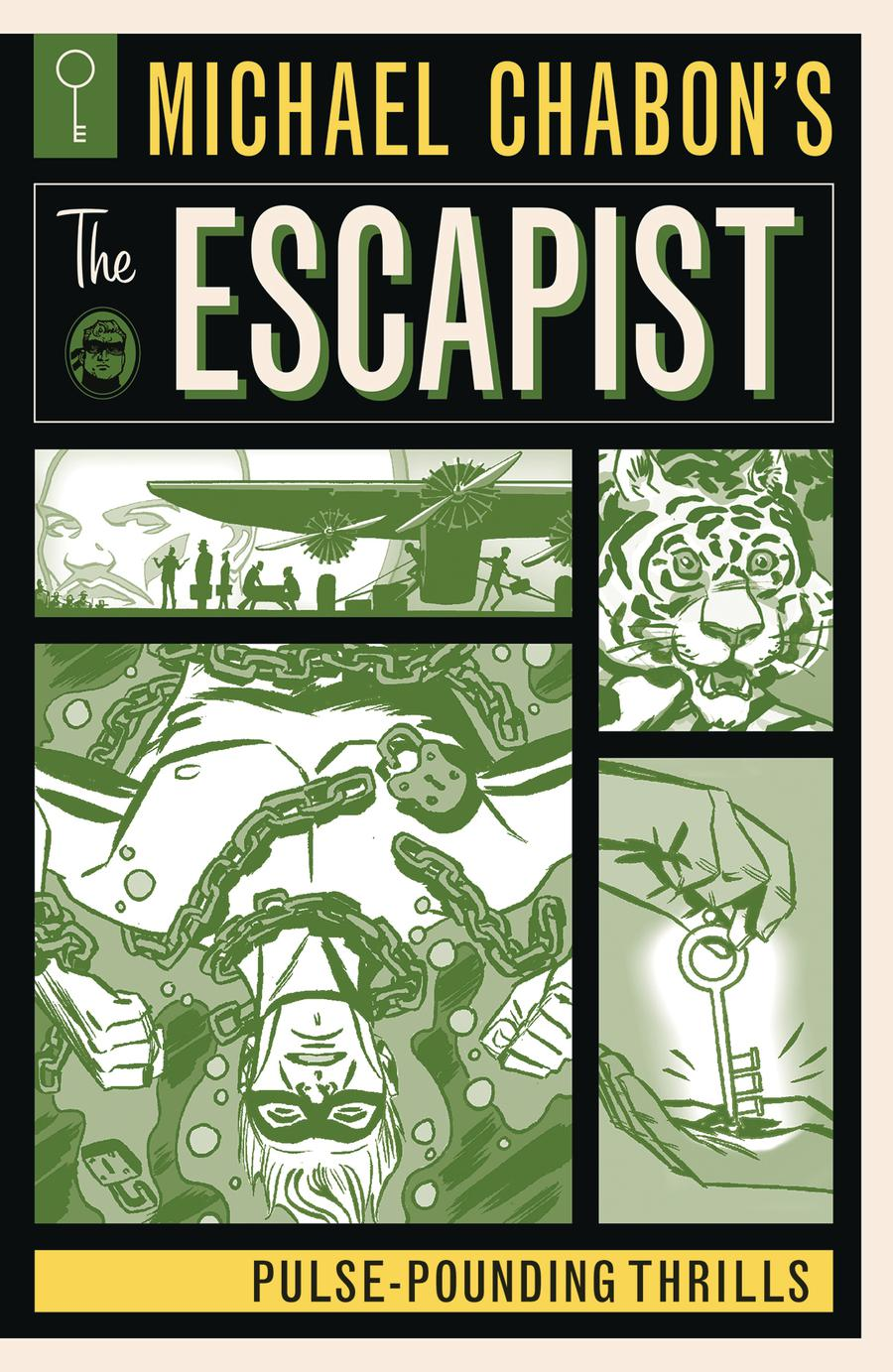 Michael Chabons The Escapist Pulse-Pounding Thrills TP