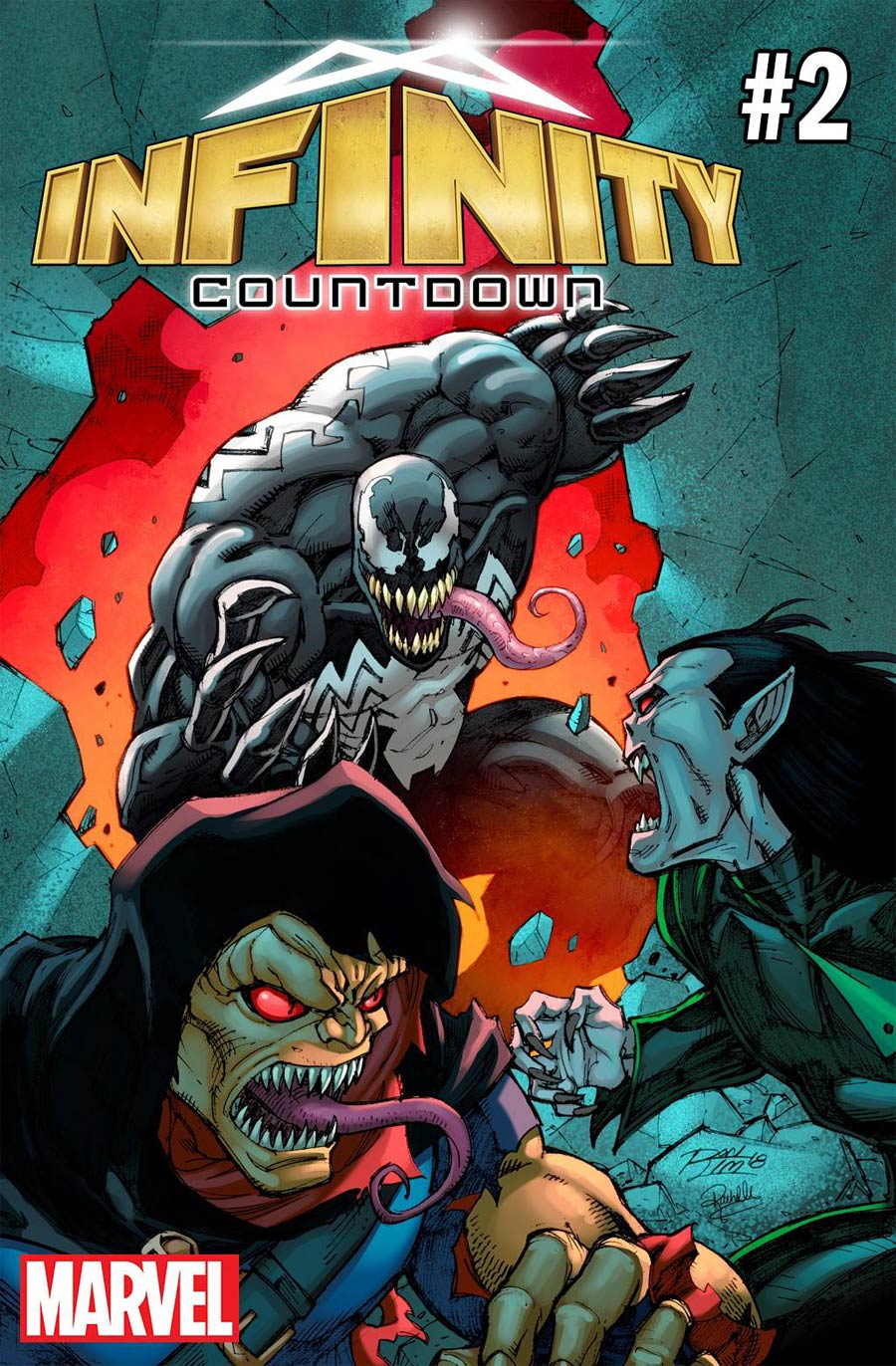 Infinity Countdown #2 Cover E Variant Ron Lim Venom 30th Anniversary Cover