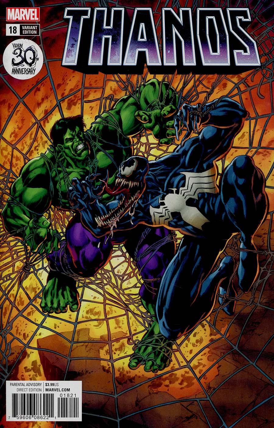 Thanos Vol 2 #18 Cover B Variant Mike Perkins Venom 30th Anniversary Cover