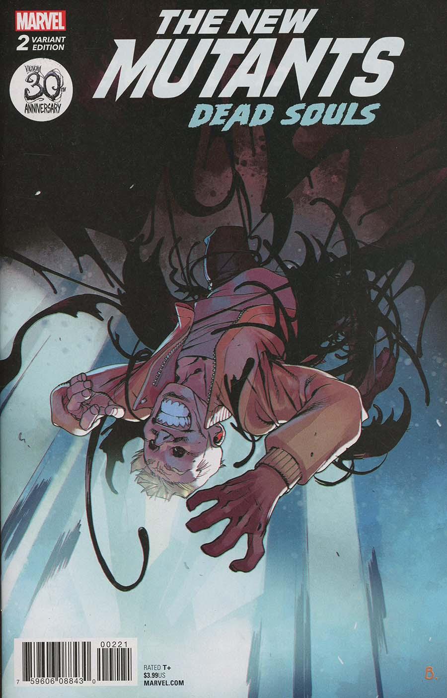 New Mutants Dead Souls #2 Cover B Variant Bengal Venom 30th Anniversary Cover