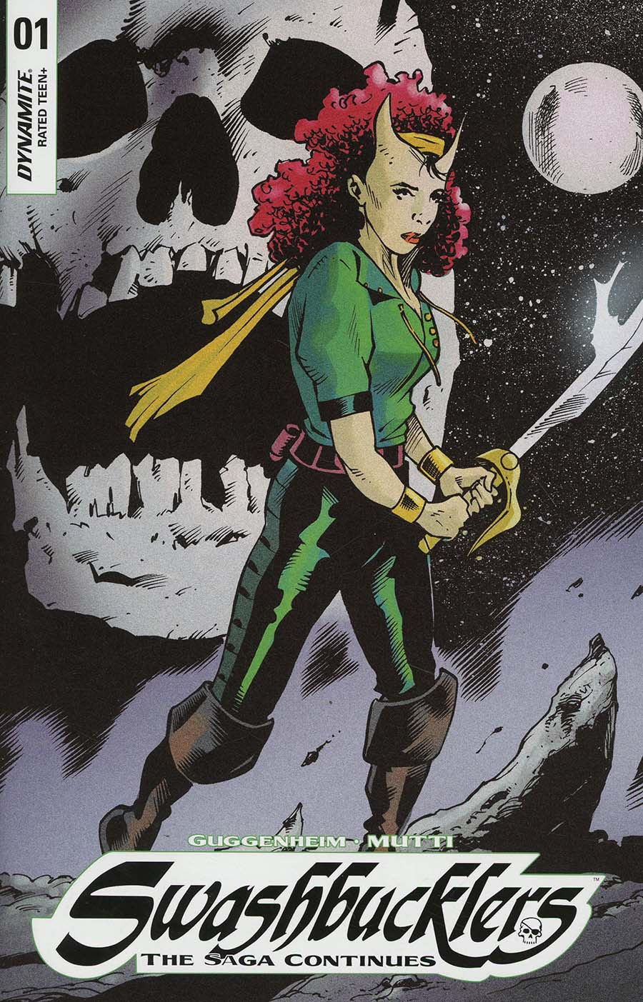 Swashbucklers Saga Continues #1 Cover C Incentive Andrea Mutti Raader Character Design Variant Cover