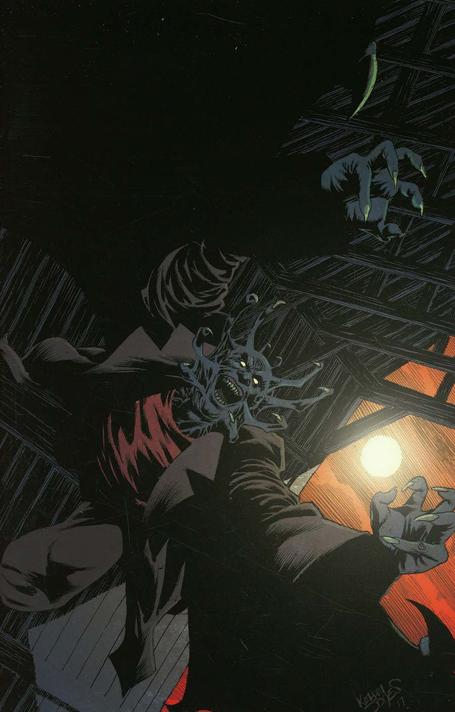 Jeepers Creepers #1 Cover E Incentive Kelley Jones Virgin Cover