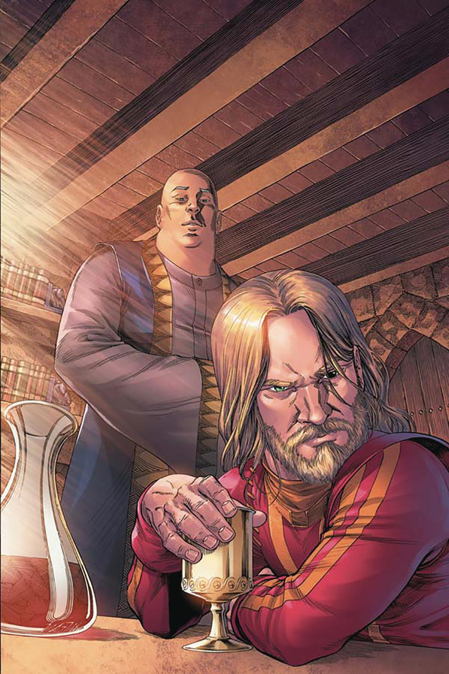 Game Of Thrones Clash Of Kings #10 Cover E Incentive Mike Miller Virgin Cover