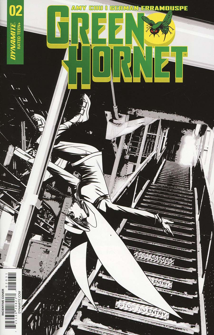 Green Hornet Vol 4 #2 Cover C Incentive Mike McKone Black & White Cover