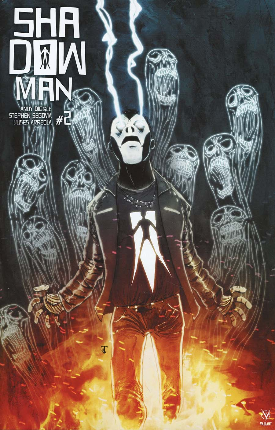 Shadowman Vol 5 #2 Cover F Incentive Ben Templesmith Shadowman Icon Variant Cover