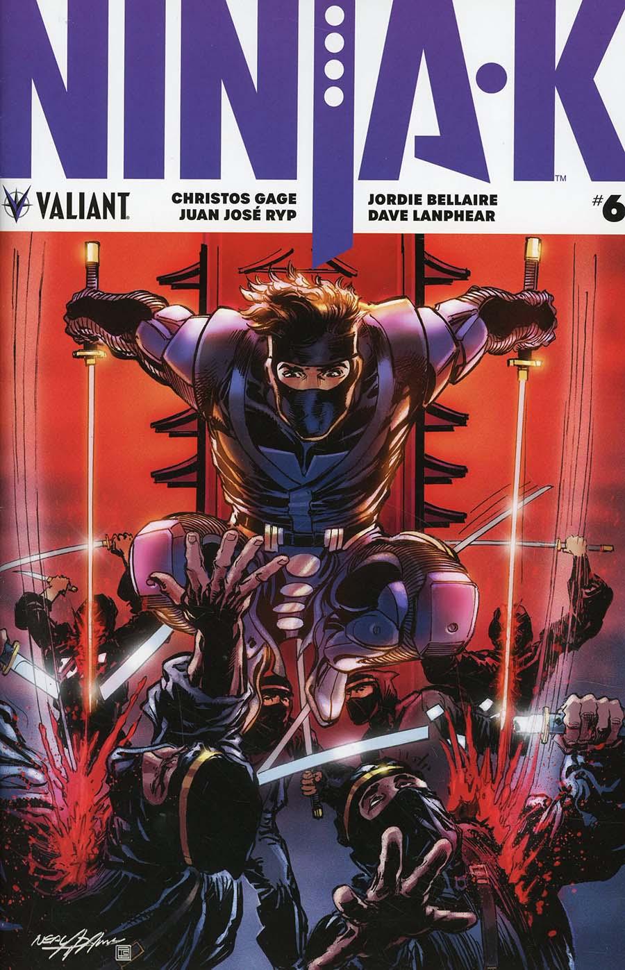 Ninja-K #6 Cover E Incentive Neal Adams Ninjak Icon Variant Cover