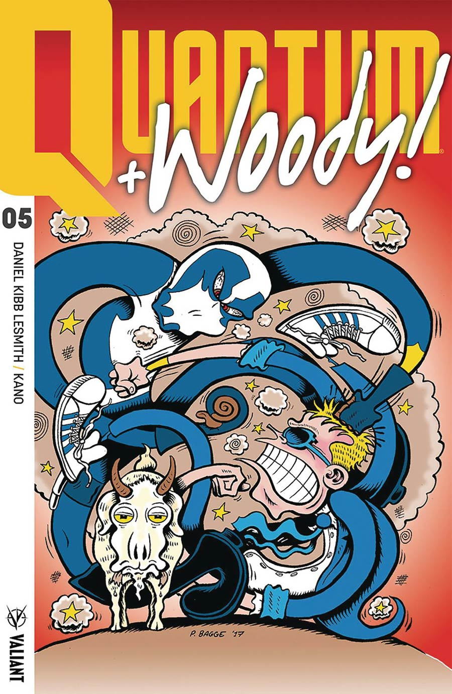 Quantum & Woody Vol 4 #5 Cover E Incentive Peter Bagge Quantum & Woody Icon Variant Cover