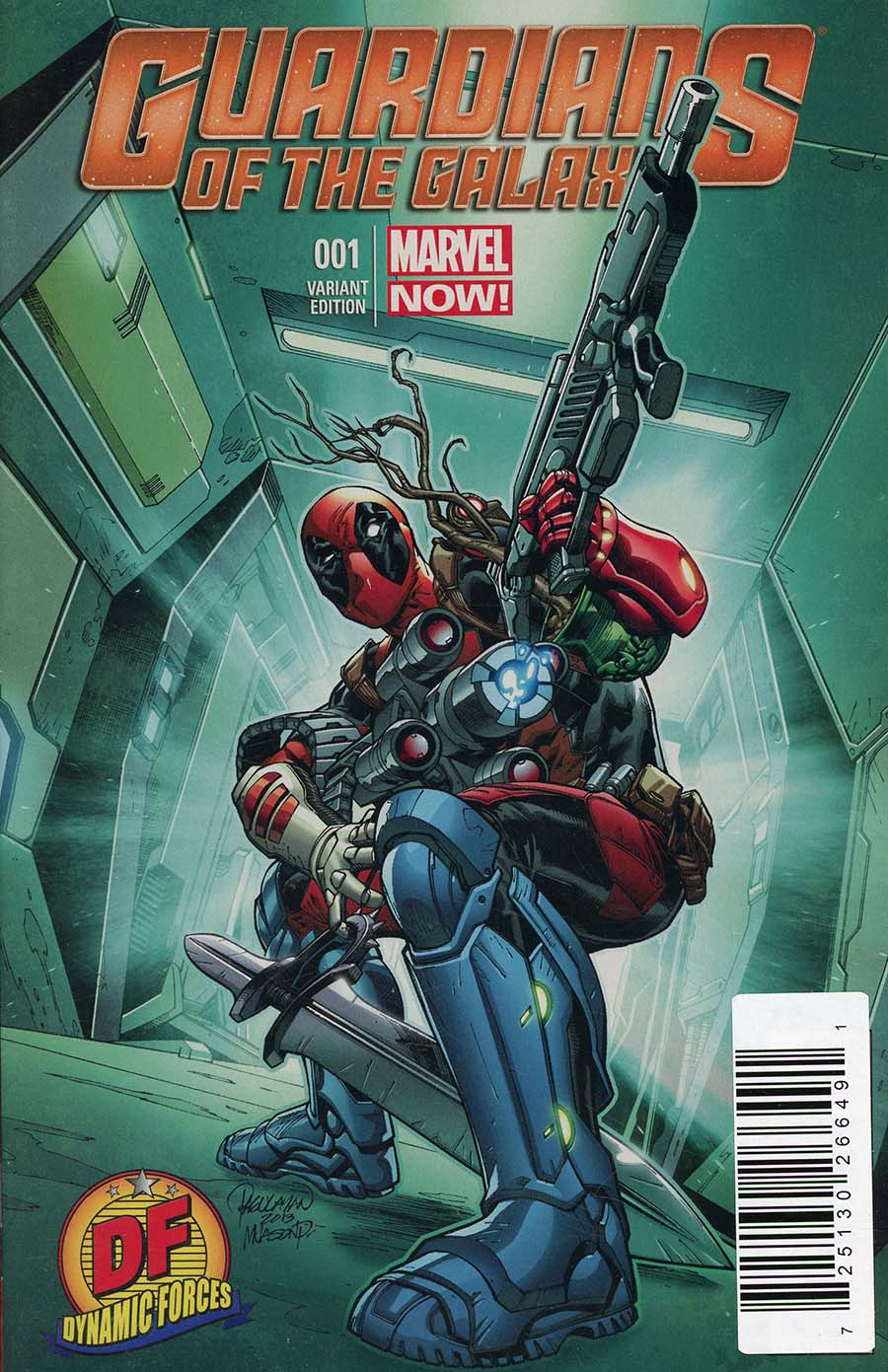 Guardians Of The Galaxy Vol 3 #1 DF Cover Plus 1 Package