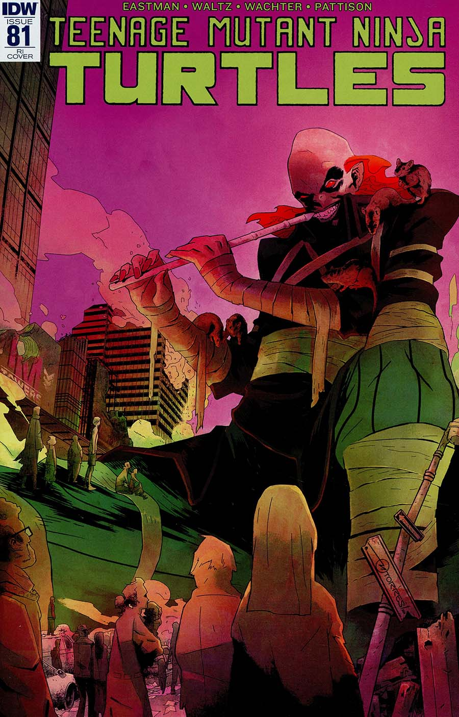 Teenage Mutant Ninja Turtles Vol 5 #81 Cover C Incentive Mark Torres Variant Cover