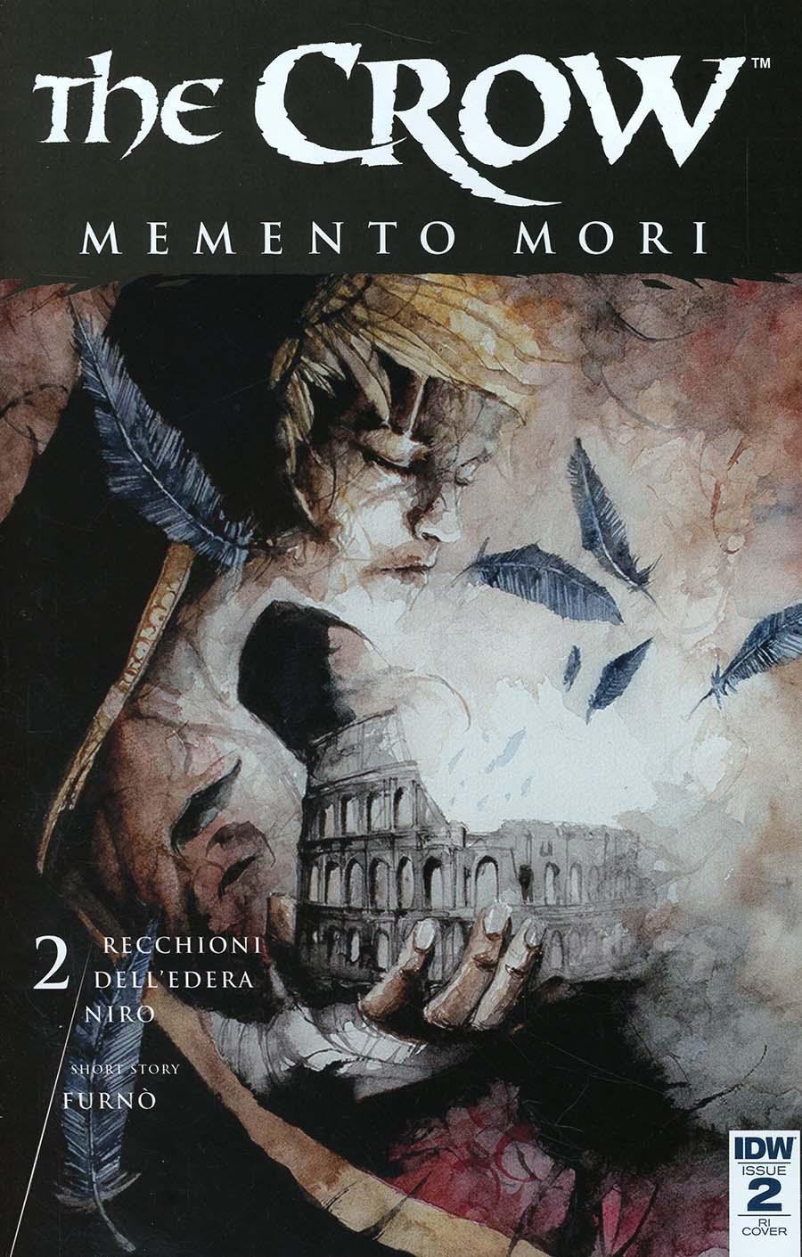 Crow Memento Mori #2 Cover C Incentive Daniele Serra Variant Cover
