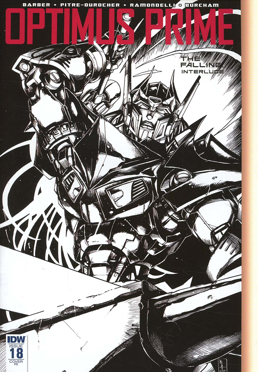 Optimus Prime #18 Cover C Incentive Kei Zama Variant Cover