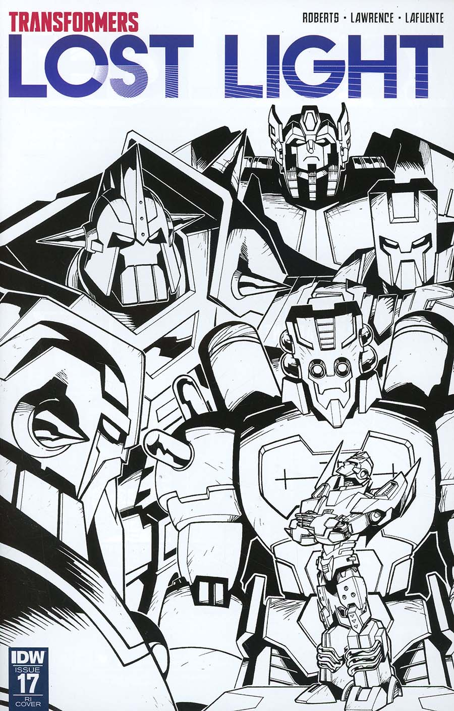 Transformers Lost Light #17 Cover C Incentive Jack Lawrence Variant Cover