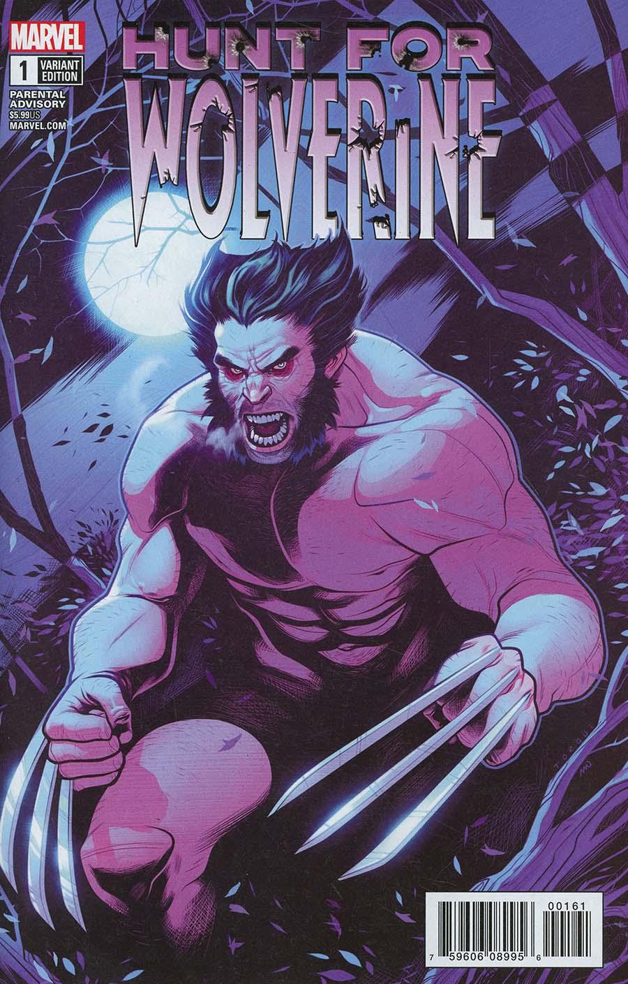 Hunt For Wolverine #1 Cover E Incentive Elizabeth Torque Variant Cover